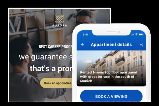 booking widget integration in your website
