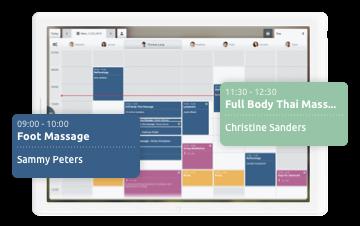 Appli pour tablette pour la gestion des rendez-vous - TIMIFY