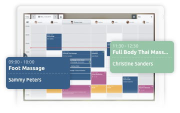 Tablet app for online booking and scheduling - TIMIFY