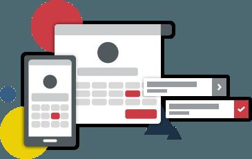 OnlineTerminvereinbarung und -Kursreservierung