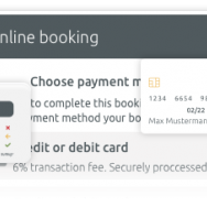 Online payment with Stripe