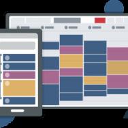 Applis bureau, tablette et mobile gestion des rendez-vous