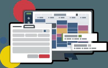 Desktop app for scheduling