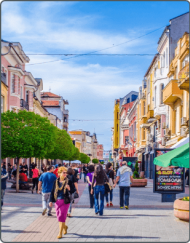 Plovdiv, Bulgaarse