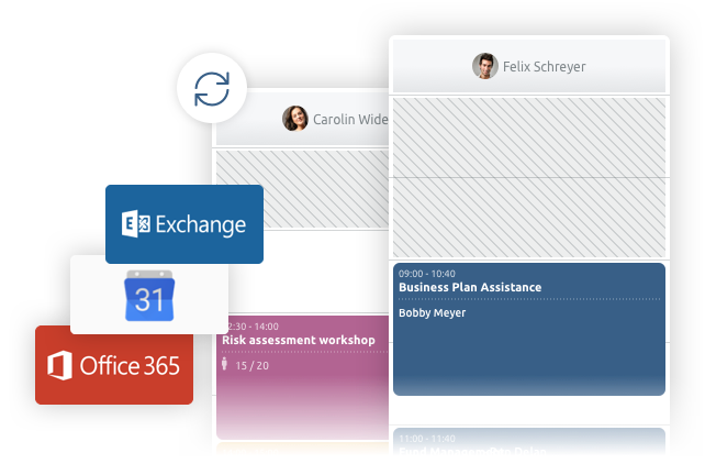 timify integration with microsoft, office and google