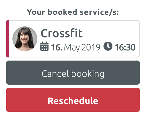 Booking Rescheduler