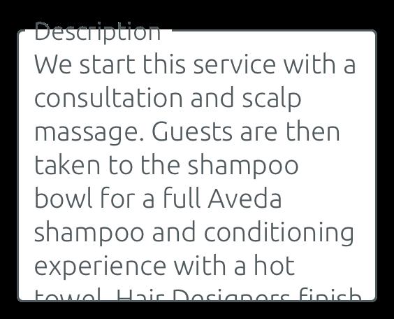 Description des services