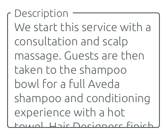Descriüpción de servicio