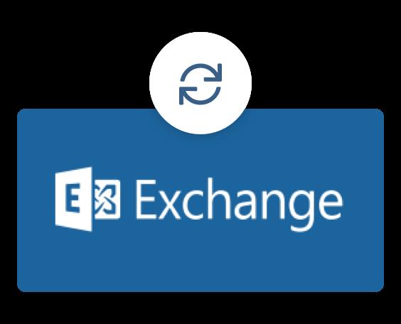 Синхронизиране с MS Exchange