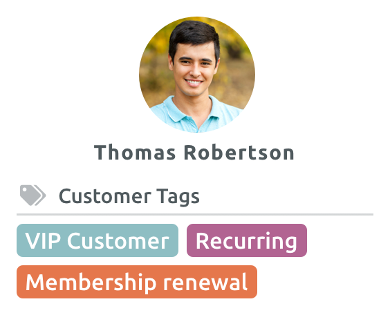 Gestione Tag clienti e prenotazioni