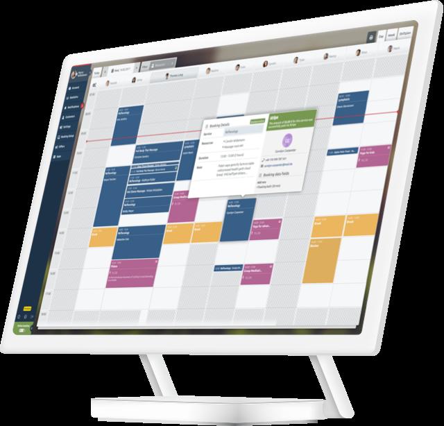 calendari sistema di gestione per Centri Benessere