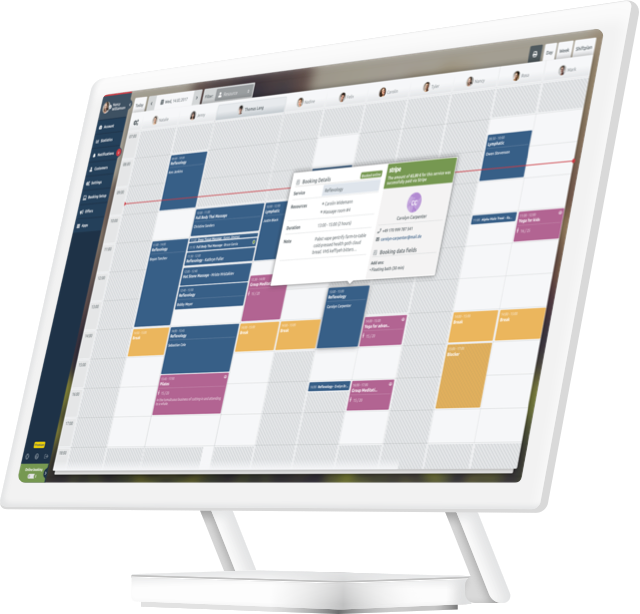 Terminplanungs-App für Spa und Wellness