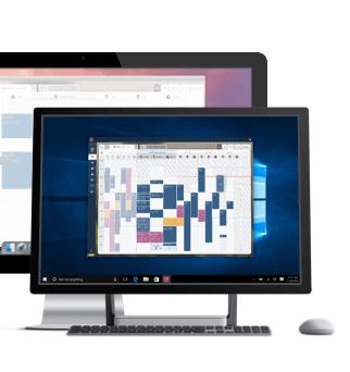 приложение за планиране на работният процес за Windows & macOS