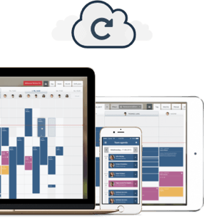 Mobile and tablet Apps for scheduling