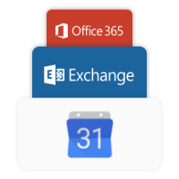exchange and 365 logo