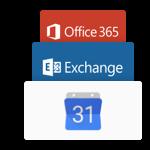 exchange and 365 logo