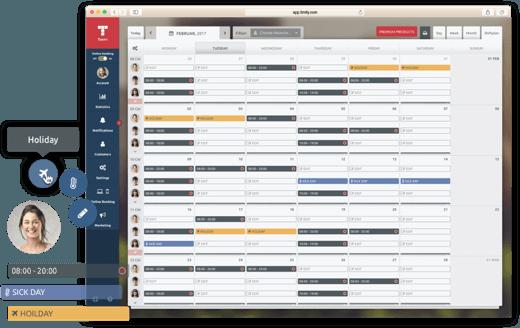 планиране на работен график за сватбени агенции