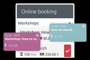 Organise seminars and training courses