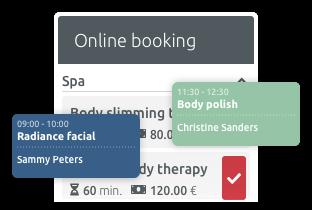 logiciel de gestion du planning spa