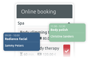 booking profile