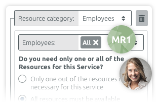 Ressourcenverwaltung und Dienstpläne timify