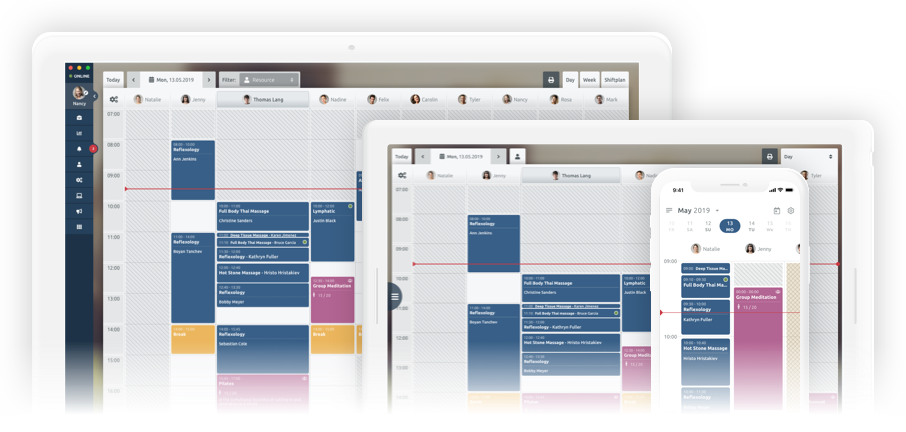 плануване на работен график за spa и wellness центрове