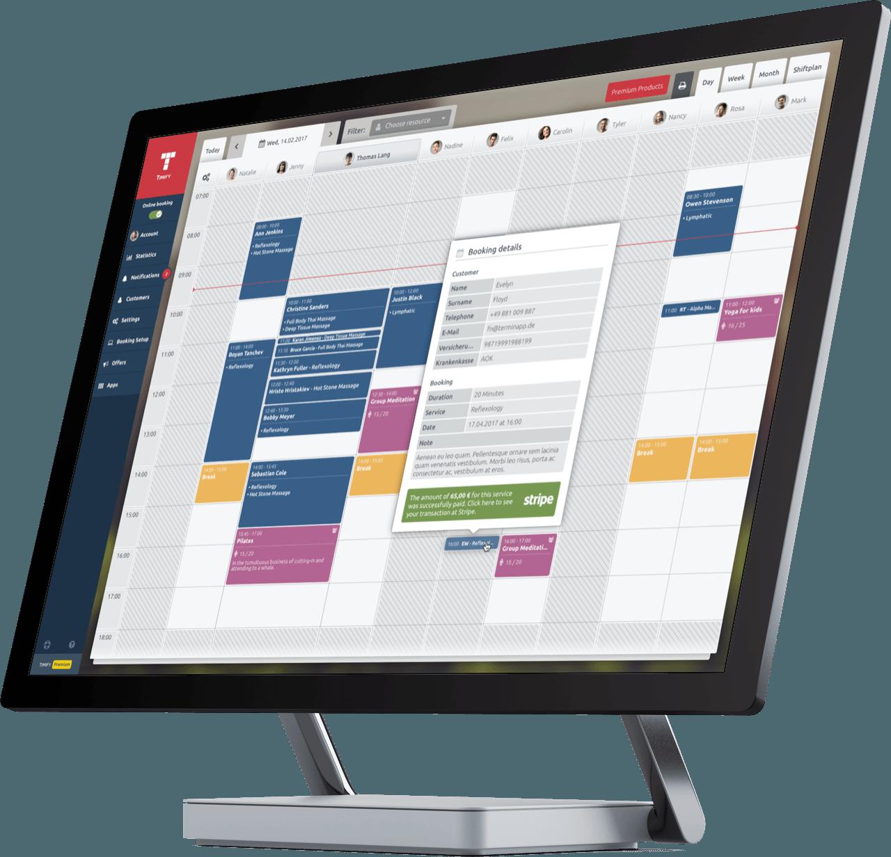 Terminbuchung und Terminverwaltung für alle Dienstleister