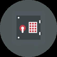 Almacenamiento seguro de los datos de sus clientes