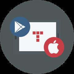 Arbeitet auf allen Android- und iOS-Geräten