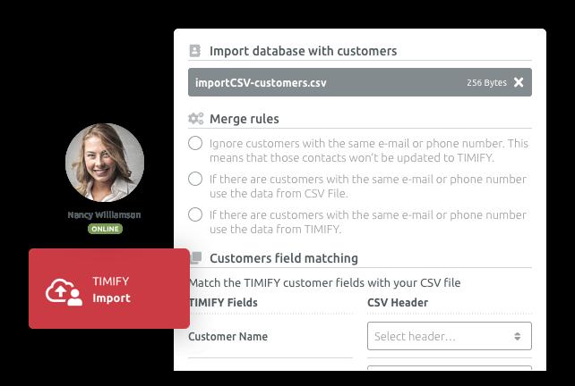 Импортирайте лесно всички си данни в TIMIFY