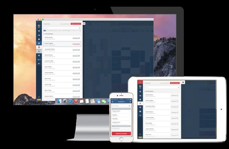 Управление на клиенти на различни платформи