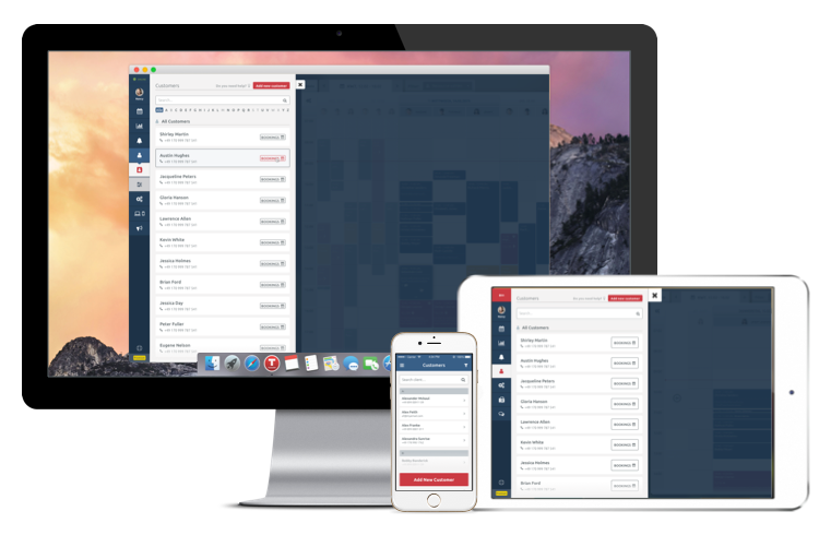 Kundenmanagement auf allen Plattforms
