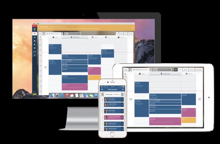app desktop, tablet e mobile