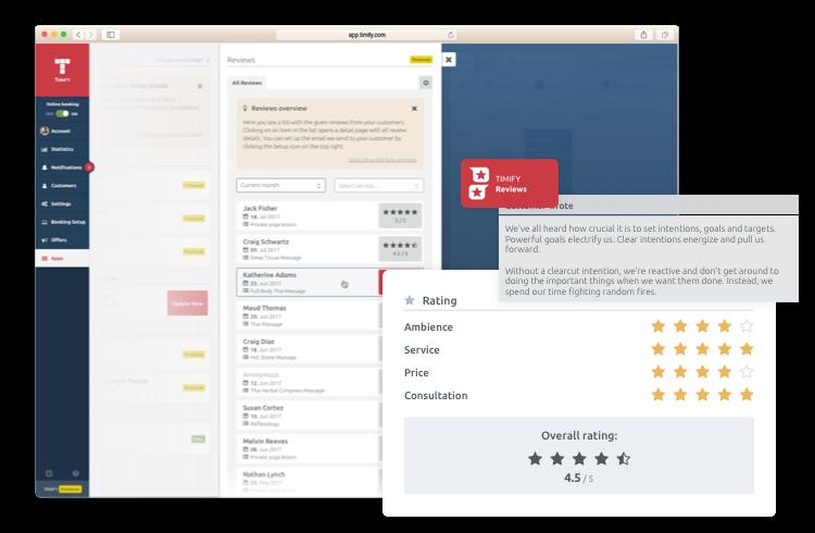 TIMIFY Kundenbewertung app