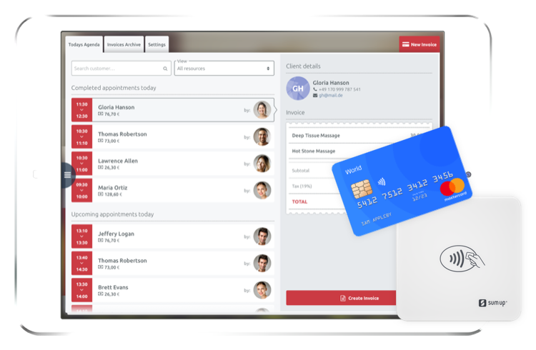 invoice payment app timify