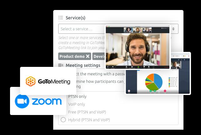 Passez aux réunions et évènements virtuels