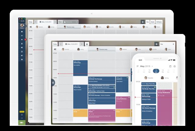 Cross-platform scheduling system