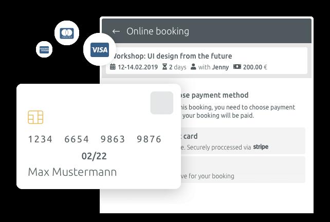 events registration online payment