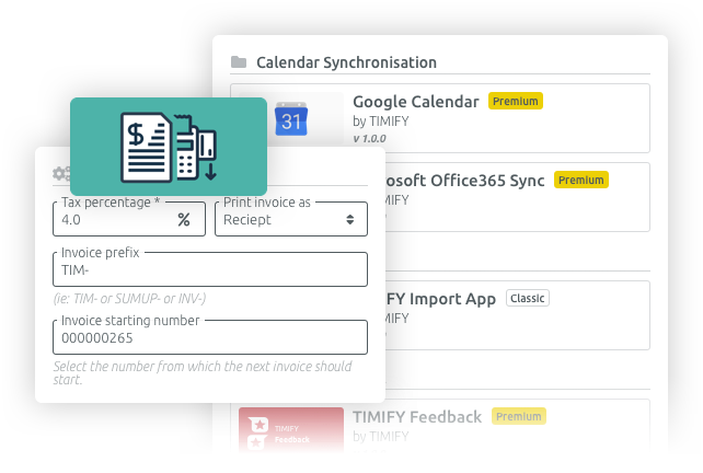invoicing timify easy and flexible
