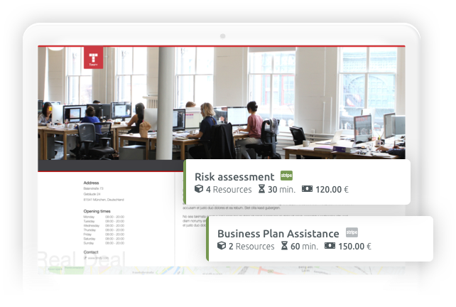 По-широк обхват на бизнеса Ви с мини уебсайт от TIMIFY