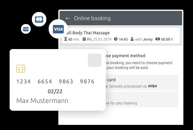 Интегрирайте опциите за онлайн плащане в процеса на резервация