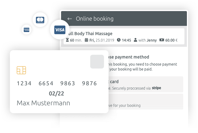 payment and invoice with timify