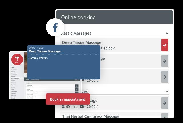 Website- en Facebookintegratie