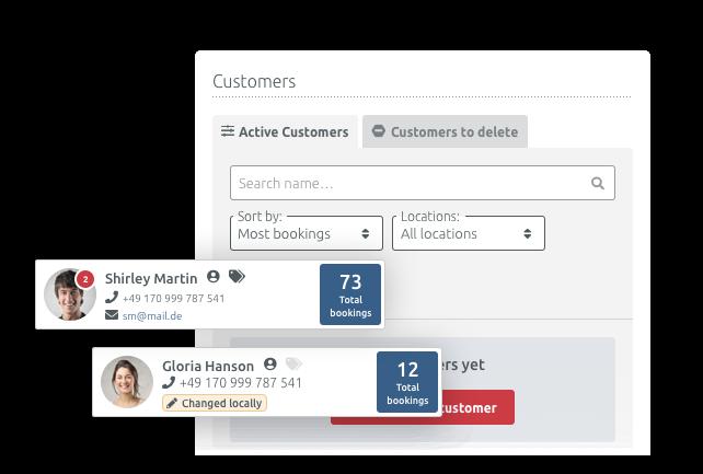 Einheitliche Kundendaten in allen Filialen