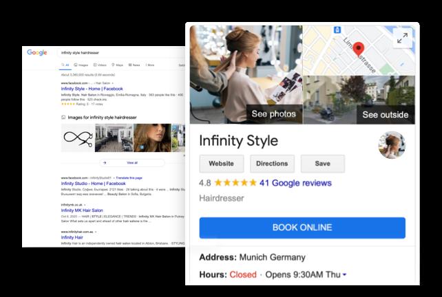 ¿Por qué usar Reserve with Google?