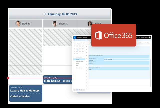 sincronizzazione office 365 e Office 365 con il calendario TIMIFY