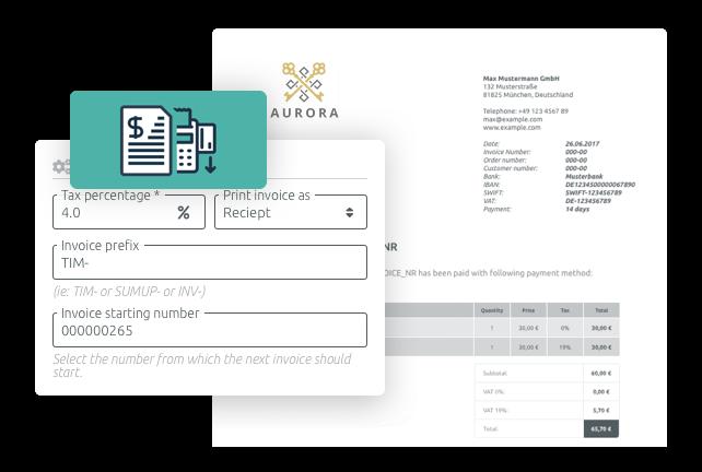 Gérez des factures avec l'application TIMIFY Invoice