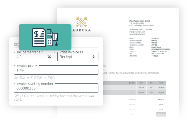 Create and manage invoices easily