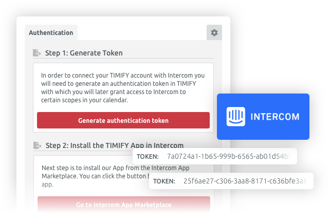 intercom integration with timify