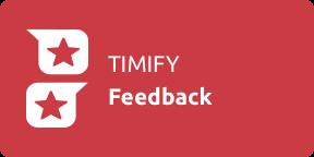 TIMIFY Feedback-app